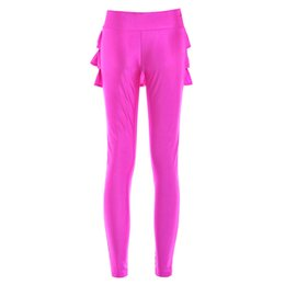 Barato Leggings De Pele Sexy-2015 modelos de explosão de quadril europeus e americanos flounced culottes candy coloured tail swing Slim leggings sexy lojas de fábrica