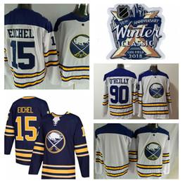 New AD 2018 Winter Classic Buffalo Sabres Hockey Jerseys 15 Jack Eichel  Jersey 90 Ryan O Reilly 9 Evander Kane 23 Sam Reinhart Stitched Logo 59d06a779
