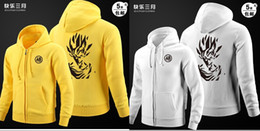 Hoodies & Sweatshirts Dragon Ball Son Goku Hoodie Dragonball Z Dbz Cosplay Costume Cotton Noctilucent Jacket Coat God Coat