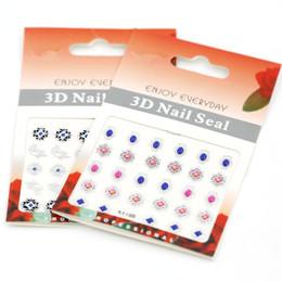 $enCountryForm.capitalKeyWord Canada - Nail Art Decal Decorations 3D Nail Stickers 20pcs lot New Zipper Flower Nail Decals Nail Art Sticker 105*67mm KY