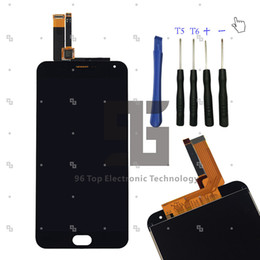 China Wholesale-HOT For Meizu M2 Note Full LCD DIsplay + Touch Screen Digitizer Assembly Replacement; 5.5 inch; NEW; Free Shipping + tool cheap meizu m2 note touch screen suppliers