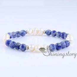 China freshwater pearl bracelet with semi precious stone boho jewellery australia bohemian chic jewelry pearl bridal jewelry gypsy jewelry suppliers