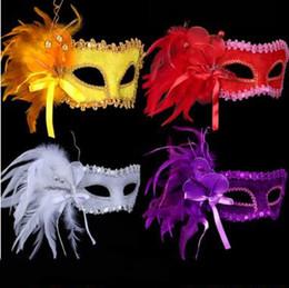 $enCountryForm.capitalKeyWord Australia - Women Handwork Flannel Masks Masquerade Halloween High-grade Venice Party Face Masks for Bar Club Dancing Show Halloween Masks Shop