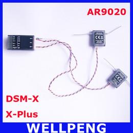 X helicopter online shopping - AR9020 ch X Plus Receiver DX7S DX18 DX10T DX8 DX9 SPMAR9020