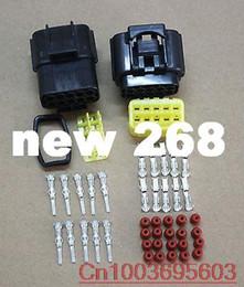 $enCountryForm.capitalKeyWord Canada - 20sets 10 PIN 10A 2.3mm Waterproof Car Electrical Wire Connector Plug