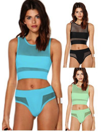 1ad6af2ace Bikinis Brands Canada - 2015 new fashion high waist bikini set for women