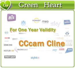 CCCAM Cline durante 1 año 4 Clines 7 Cline validez Soporte Alemania Reino Unido Canal Plus España Francia decodificador prueba gratuita CCcam Servidor Receptor