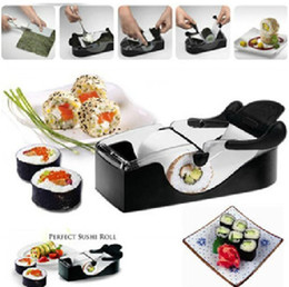$enCountryForm.capitalKeyWord Canada - SuShi Maker Newest DIY Sushi Roller Cutter Perfect Machine Roll Magic Rice Mold Maker Kitchen Accessories Tools Gadgets 100Pcs