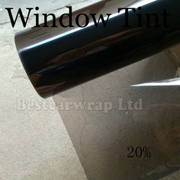 Chinese  VLT 25% Wiindow Tint Film Solar Film High Resistance UV Heat Insulation Film For Car Glass Protection Size 1.52x30M 4.98X98FT manufacturers