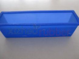 Großhandel XZ-1A073 SGS zertifiziert quadratische form beliebte wiederverwendbare kuchenform lebensmittelqualität material silikon seifenform kuchenform