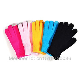 Chinese  Wholesale-2015 New Iglove Touch Screen Gloves Female Winter Autumn Warm Gloves Fashion Luvas For Women Men Cheap Wholesale Free Shipping manufacturers