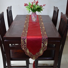Discount Tablecloth Runners Designs New Design Gorgeous Feast Decorative  Table Runner Silk Brocade End Table Tablecloth