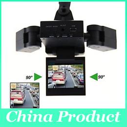 $enCountryForm.capitalKeyWord Canada - New Dual Two Lens Car DVR Cam Recorder Night Vision Vehicle Camera Video H303 dvr video recorder 010224