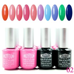 Barato Uv Gel Nail Summer Colors-Atacado-Perfect Verão Soak Off Gel Polish 240 Colors Hot Sale UV unhas de gel de longa duração Gel Verniz