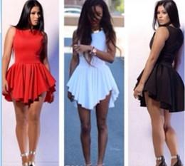 5ebab43659 Hot Sale Night Club Dresses Irregular Hem Bandage Dress Sexy Women s Plus  Size Skater Dress Party Bodycon Dresses