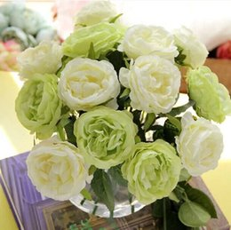 $enCountryForm.capitalKeyWord Canada - 20pcs lot Natural real touch rose Artificial slik decorative Flowers Home decoration for Wedding Party Birthday photography