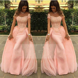 adult pageants dresses Canada - Gorgeous Off Shoulder Prom Dresses With Front Split 2017 Long Floor Length Arabic Celebrity Derss Evening Wear Girls Birthday Pageant Gowns
