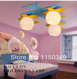 Child Light Child Bedroom Lights Light Aircraft Child Cartoon Lamps Housing Child Boy Ceiling Light
