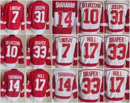 9d0e2efac25 ... Hockey Jerseys Mens Throwback Detroit Red Wings 7 Ted Lindsay 10 Alex  Delvecchio 33 Kris Draper 31 Curtis ...