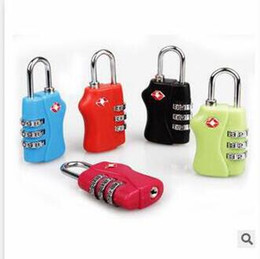 $enCountryForm.capitalKeyWord Canada - TSA Luggage Strap Locks Digit Plastic Alloy Lock Password Customs Luggage Padlock Combination Suitcase Padlock Luggage Travel Lock Top lock