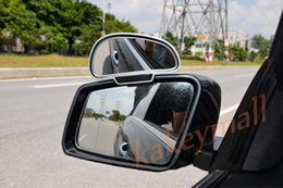 $enCountryForm.capitalKeyWord Canada - 2X Chrome Style Car Motor Universal Parts Auxiliary Rearview Rear View Blind Spot Mirror Adjustable Accessories