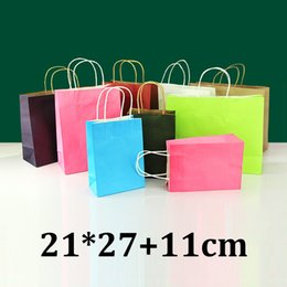Discount Colored Paper Gift Bags | 2017 Colored Paper Gift Bags on ...