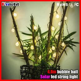 $enCountryForm.capitalKeyWord Canada - 4.8m 20lamps solar bubble ball string light,outdoor christmas decration bulb light IP67 waterproof solar led lamp,solar string lights 2pack