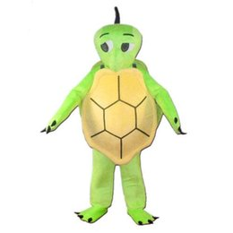 xxl xxxl dresses UK - Turtle Tortoise Mascot Costume Animal Fancy Dress Deluxe Cartoon Outfit Adult