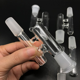 reclaim adapter NZ - 10 Styles Glass Reclaim adapter Male Female 14mm 18mm Joint Glass Reclaimer adapters Ash Catcher for Oil Rigs Glass Bong hot selling