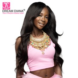 $enCountryForm.capitalKeyWord Canada - Promotion! Grace Hair Products Brazilian Body Wave With Closure Tissage Human Hair Weave With Closure New Brazilian Virgin Hair Body Wave