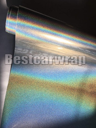 Metallic silver wrap online shopping - Silver Psychedelic Gloss Metallic Flip Vinyl Wrap For Car Wrap With Air bubble Free psychedelics Luxury Car Wrapping film Like m