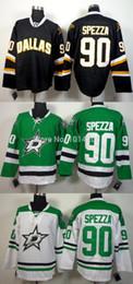 Hockey Team Shirts Canada - 30 Teams-Wholesale Cheap Dallas Star Jerseys #90 Jason Spezza Jersey green white black Cheap Ice Hockey Shirts Wholesale
