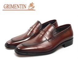 $enCountryForm.capitalKeyWord UK - GRIMENTIN Hot sale Italian fashion designer mens dress shoes high quality leather men oxford shoes formal business wedding male shoes YJ