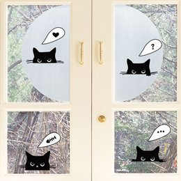 $enCountryForm.capitalKeyWord NZ - Window Glass Switch Decoration Art Decal Sticker Wifi Sign Lovely Cat Panda Decor Poster Flowers Sticker Decal Mix order for Home Decor
