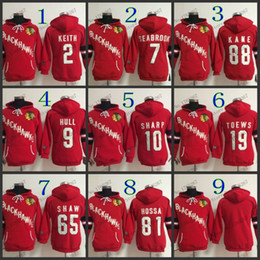Bobby Hull Blackhawks Jersey Canada - Factory Outlet, women Chicago Blackhawks jersey hoody KEITH jerseys #7 brent seabrook #9 bobby hull #2 Embroidery warm hoodie