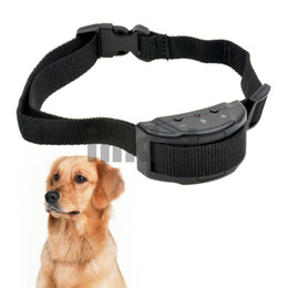 Chinese  Free Shipping 2013 Newest 7 Levels Hot Selling Anti No Barking Dog Bark Stop Collar for Dogs CW004H 47 Z manufacturers