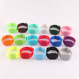 Unisex Silicone Sports Watch Canada - HOT!Color Storm Touch Screen LED Watch Digital Colorful Silicone Sports Watches For Unisex.11 Colors