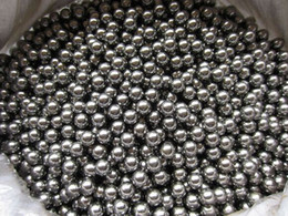 1 kg / lote (aproximadamente 3830 unids) Dia 4mm 304 Bola de acero inoxidable Durable Bicicleta rodamiento bolas 4 mm Slingshot Ammo