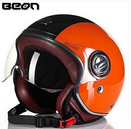 $enCountryForm.capitalKeyWord Canada - 2015 New Authentic Dutch BEON fashion Harley style helmets winter half-face motorcycle safety helmet made of FRP B-109 for men and women