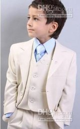 $enCountryForm.capitalKeyWord Canada - Custom Made Kid Notch Collar Children Wedding Suit Boys Attire Boy Formal Wear Suit(Jacket+Pants+Tie+Waistcoat)