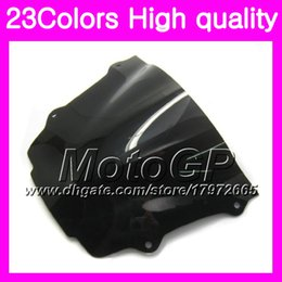 Discount honda cbr windshield - 23Colors Windscreen For HONDA CBR 600RR CBR600RR 13 14 15 CBR600 F5 CBR 600 RR 2013 2014 2015 hrome Black GPear Smoke Wi