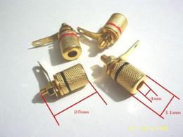 Terminal binding posTs online shopping - 100 Gold Plated Speaker Amplifier Terminal Binding Post
