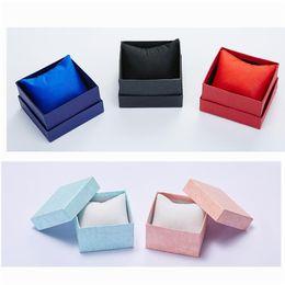 $enCountryForm.capitalKeyWord NZ - Cardboard Present Gift Box Case for Bangle Jewelry Ring Earrings Wrist Watch Jewelry Storage Gift Box Saat Kutusu Box For Watch