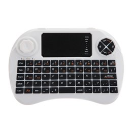 $enCountryForm.capitalKeyWord Canada - 2.4G Wireless Fly Air Keyboard Mouse 360 Degrees Touchpad DPI Adjustable Remote Control White Color High Quality
