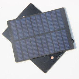 System Module Canada - Wholesale 1.3W 5V Solar Cell Module Polycrystalline DIY Solar Panel Charger System For 3.7v Battery Study 110*80MM 10Pcs Lot Free Shipping