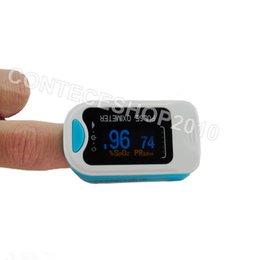OLED-Pulse-оксиметр-Fingertip-крови кислородом Насыщение-SpO2-монитор-CMS50N