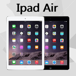 "venda por atacado 100% Original Recuperado de Apple iPad Air 16GB 32GB 64GB Wifi iPad 5 Tablet PC 9.7"" Retina Display IOS A7 remodelado Tablet DHL"