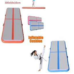 Sales Toys China Canada - Free Shipping Door To Door Inflatable Air Track Mat For Sale Factory Price China Trampoline Inflatable Air Tumble Track Inflatable Gym Mat