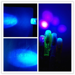Discount uv magic pen - Newly Arrival 2 in1 Invisible Ink Pen UV Black Light Combo Combo Secret Message Magic Marking Pen as Xmas gift Party Dec