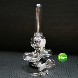 $enCountryForm.capitalKeyWord NZ - Glass Bongs Water Pipes New Percolator Pipes Honeycomb Disk Bong With Titanium Nail&Glass Bowl 14mm Smoking Pipe